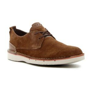 Clarks Men's Capler Plain Loafers Suede Brown